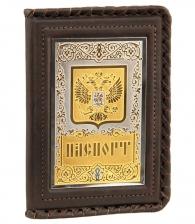 Обложка для паспорта «Герб на щите» (Златоуст)