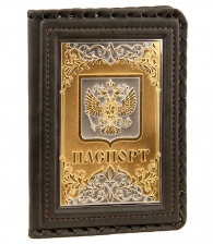 Обложка для паспорта «Орнамент» №5 (Златоуст)