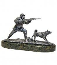 Композиция «Охотник с собакой»