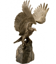 """Купить Скульптура """"Орел на скале"""" эксклюзивный подарок мужчине"""