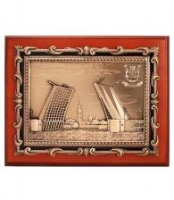 Купить подарок руководителю Кабинетное панно «Дворцовый мост»