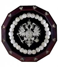 """Настенное панно """"Герб Российской империи"""""""