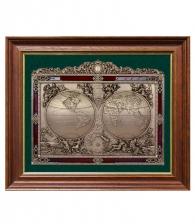 Панно «Карта известного мира» (18 век)