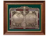 "Панно ""Карта известного мира"" (18 век)"