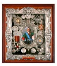 Панно с орденами «Петр I»