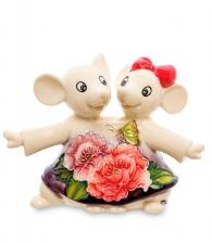 Фигурка из фарфора «Танцующие мышата»
