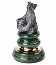 Оснастка для печати «Медведь с бочкой»