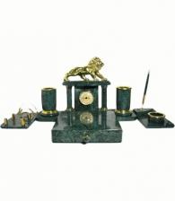Подарок мужчине Письменный набор из мрамора «Лев»