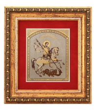 Подарочная плакетка «Георгий Победоносец» (Златоуст)