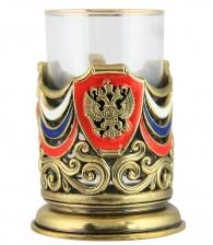 Подарочный подстаканник «Флаг триколор»