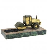 Бронзовая скульптура «Дорожный каток»