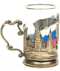 подарок руководителю Подстаканник «Флаг РФ»