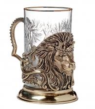 Купить Подстаканник «Лев с короной» директору в подарок