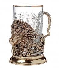 Подстаканник «Лев с короной»
