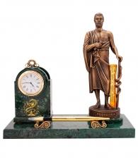 Настольный прибор с часами «Гиппократ»