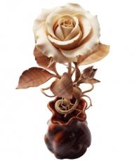 Купить Роза из дерева (Авторская работа) в магазине подарков СПб