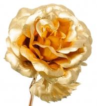 Купить Золотая роза (распустившийся бутон) с доставкой