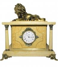 Настольные часы-сейф «Лев»
