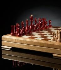 Шахматы «Классика» (красные-белые)