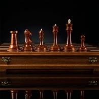Шахматы «Стаунтон» (фаворит) с темной доской