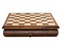 Заказать Шахматная доска с ящиком (30х30см) в магазине подарков