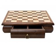 Шахматная доска с ящиком (30х30см)