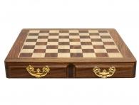 Заказать Шахматная доска с двумя ящиками в подарок мужчине