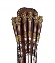 Комплект шампуров «Царский»