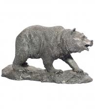 Статуэтка из олова «Медведь»