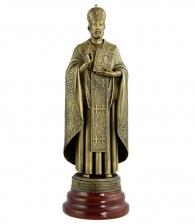 Статуэтка «Николай Чудотворец» на яшме