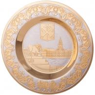 Сувенирная тарелка «Набережная Петербурга»