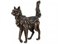 Авторская скульптура Кот металлический