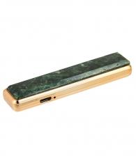 USB Зажигалка с нат. камнем «Актиновит»
