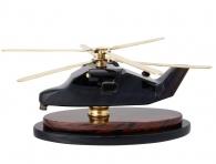 подарок летчику вертолет из камня на стол