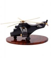Модель «Военный вертолет» (обсидиан)