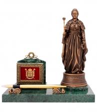 Настольная визитница «Екатерина Великая»