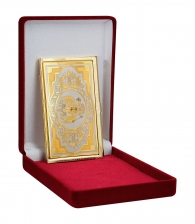 Визитница «Российский герб» Златоуст