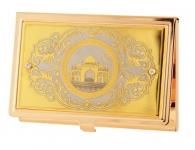 золотая визитница мусльманская мечеть