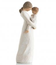 фигурка девушка с ребенком