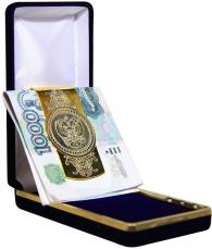 """Зажим для денег """"Герб РФ"""""""