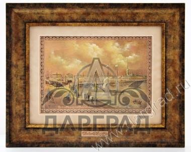 Гравюра на металле «Троицкий мост»