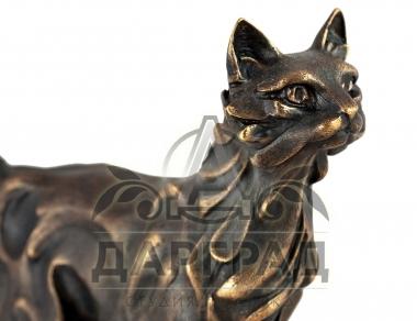 красивая Авторская скульптура Кот