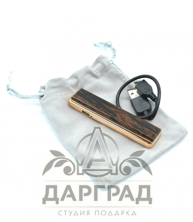 Зажигалка с накладкой из обсидиана «Петербург»