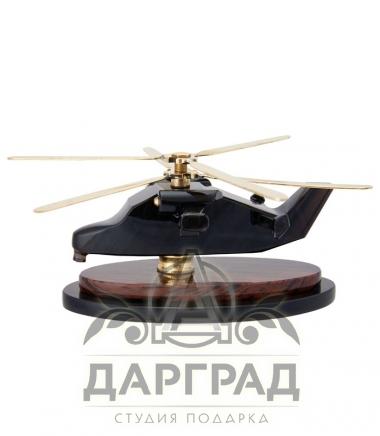 """Композиция """"Вертолет"""" (обсидиан)"""