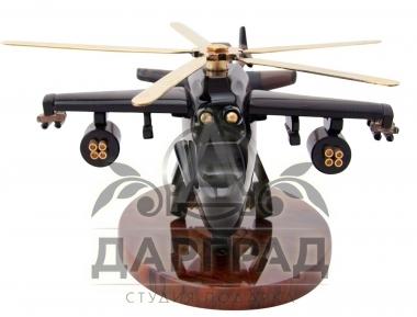 каменный вертолет подарок военному