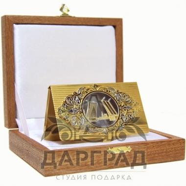 Купить Визитница «Мосты Санкт-Петербурга» (Златоуст) в магазине подарков Дарград
