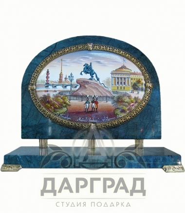 """Настольный прибор """"Медный всадник"""""""