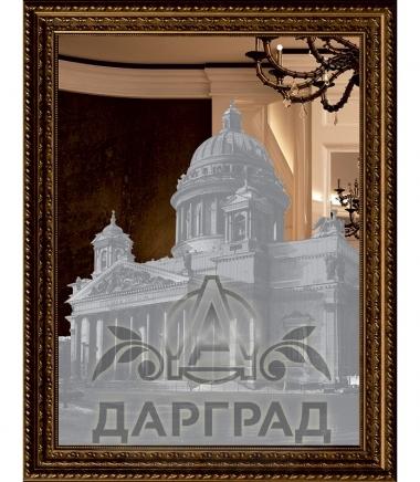 """Зеркальная картина """"Исаакиевский собор"""""""